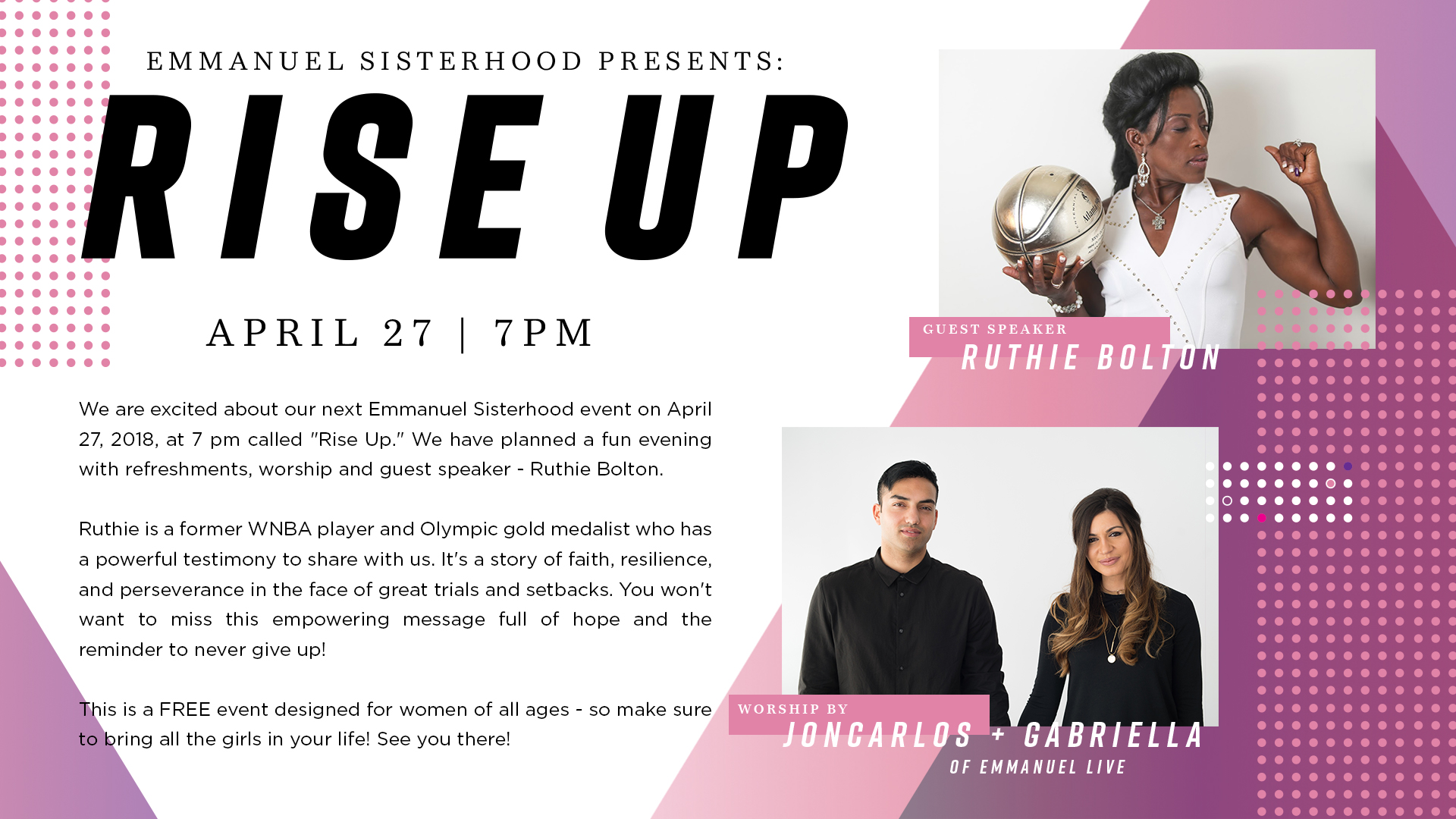 Rise Up | Emmanuel Sisterhood